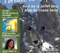 4ème rencontres dans l'oreille du loup à l'Alpe du Grand Serre